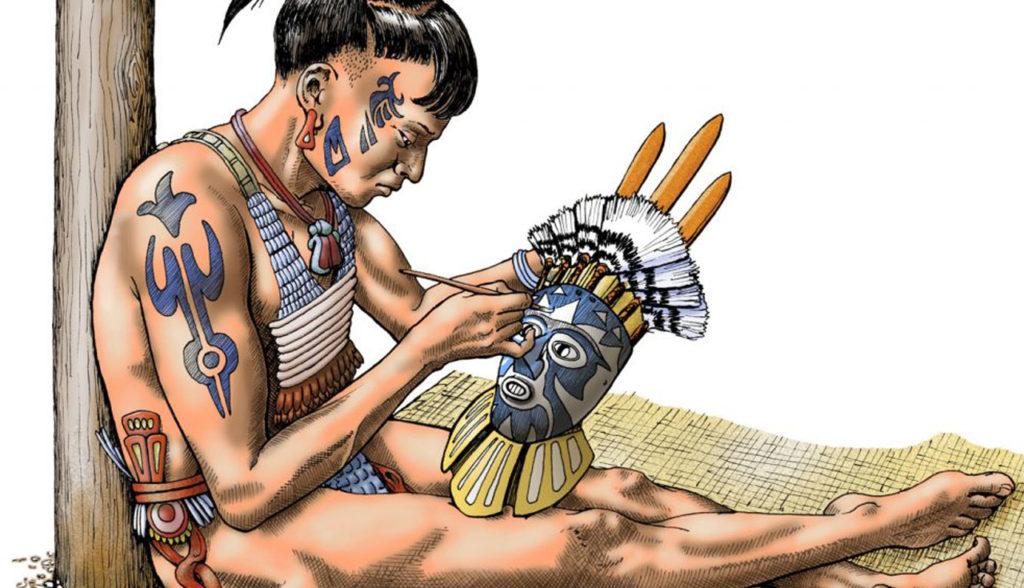Calusa Indian Art